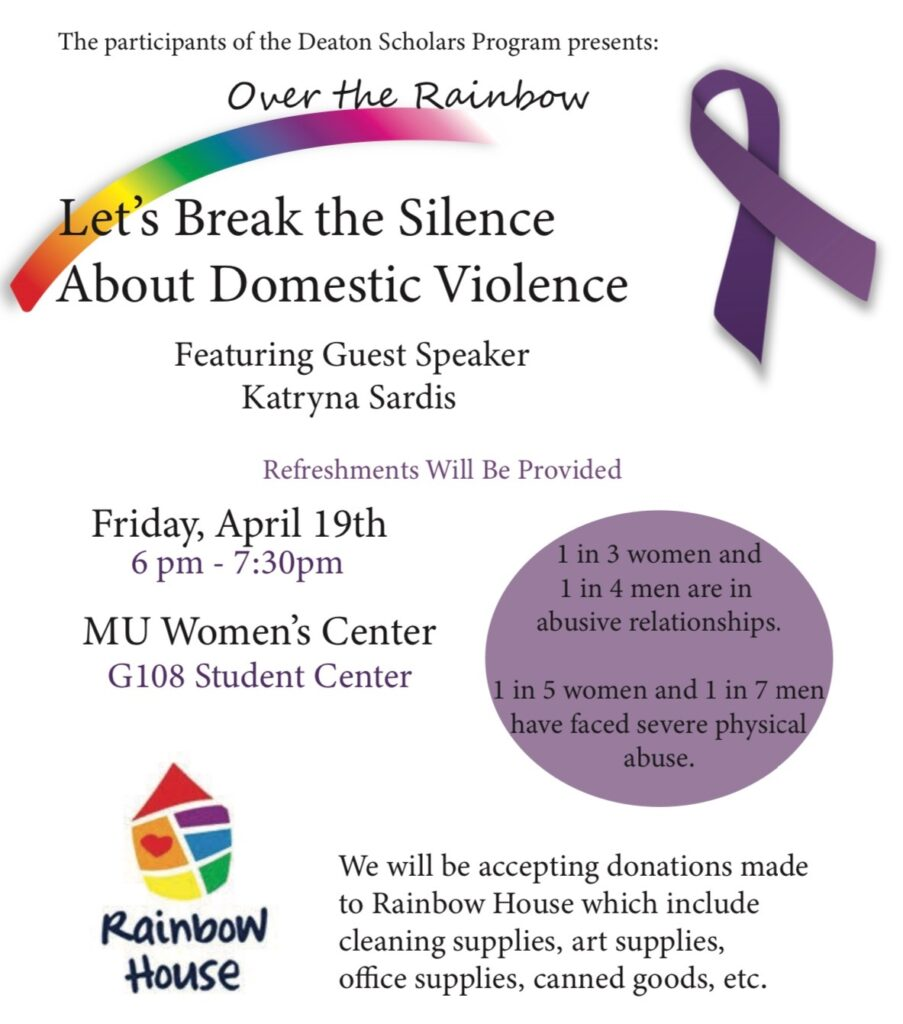 Workshop: let's break the silence
