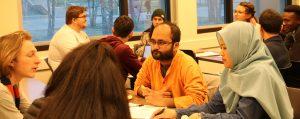 Deaton Scholars working in teams